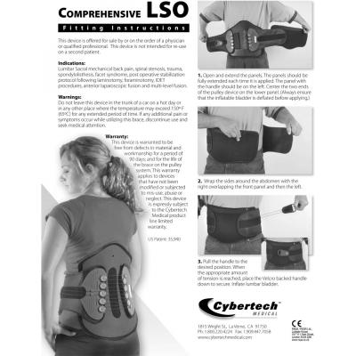 کمربند پیشرفته طبی سایبرتک Comprehensive LSO